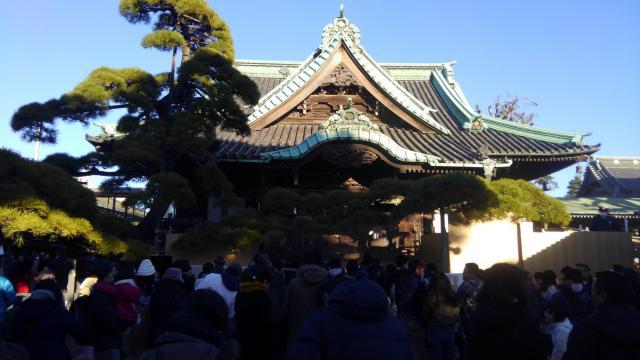 題経寺(柴又帝釈天)(東京都柴又駅) - 本殿・本堂の写真