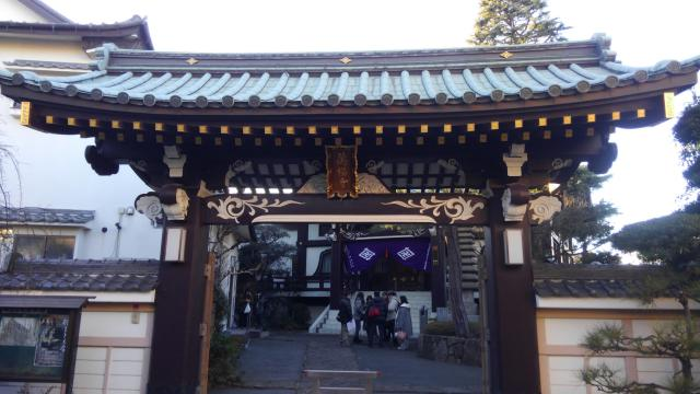 東京都万福寺の山門