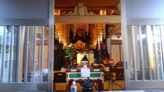 東京都万福寺の本殿