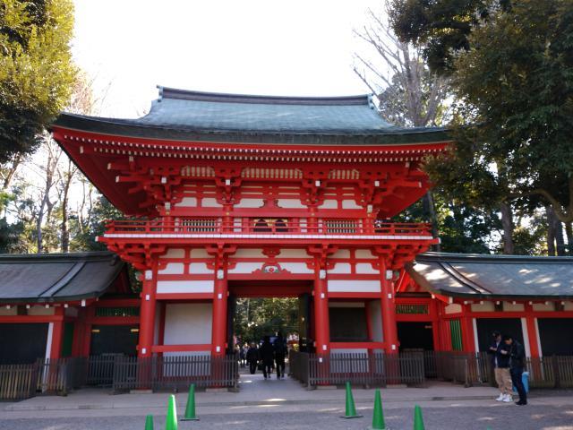 東京都井草八幡宮の山門