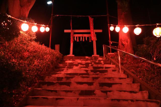 鹿島神社の鳥居
