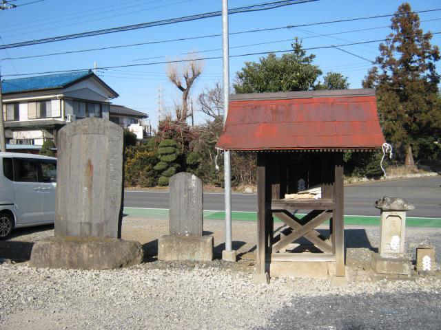 埼玉県徳力三社神社の建物その他