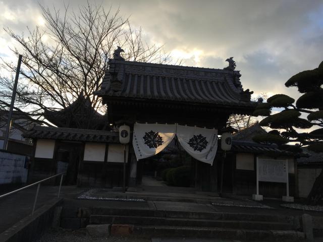 善慶寺の山門