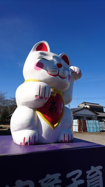 栃木県華藏寺の狛犬