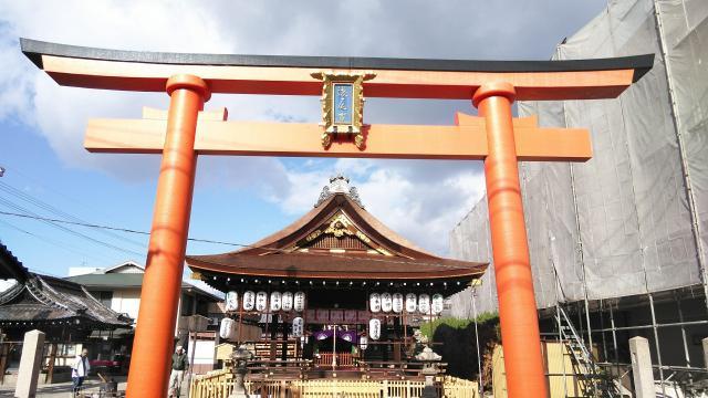 京都府瀧尾神社の鳥居