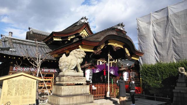 京都府瀧尾神社の本殿