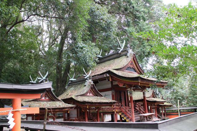 夜都伎神社の本殿