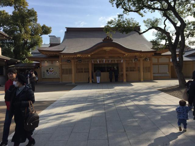 方違神社の本殿