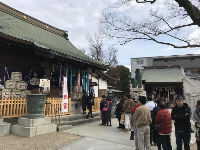 千葉県松戸神社の本殿