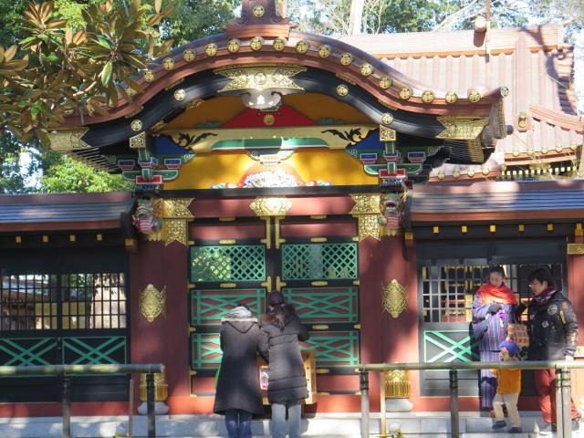 常盤神社の本殿
