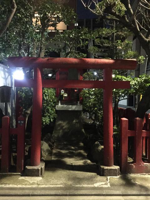 梅森稲荷神社の鳥居