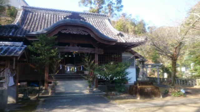 廣埜神社の本殿