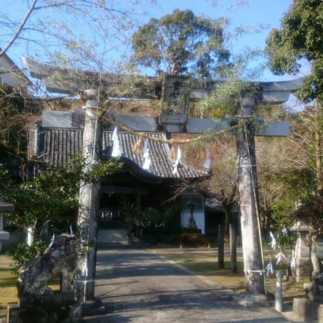 廣埜神社の鳥居