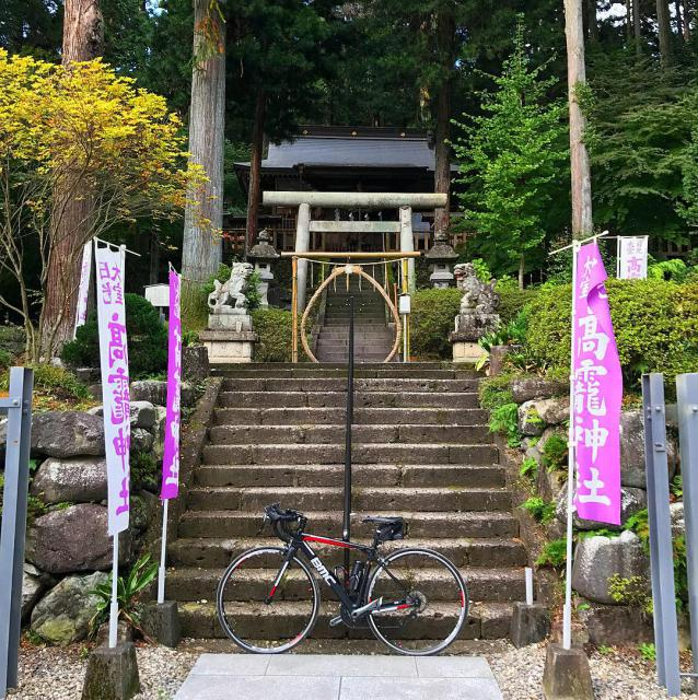 栃木県高龗神社の本殿