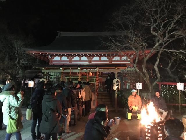神奈川県荏柄天神社の本殿
