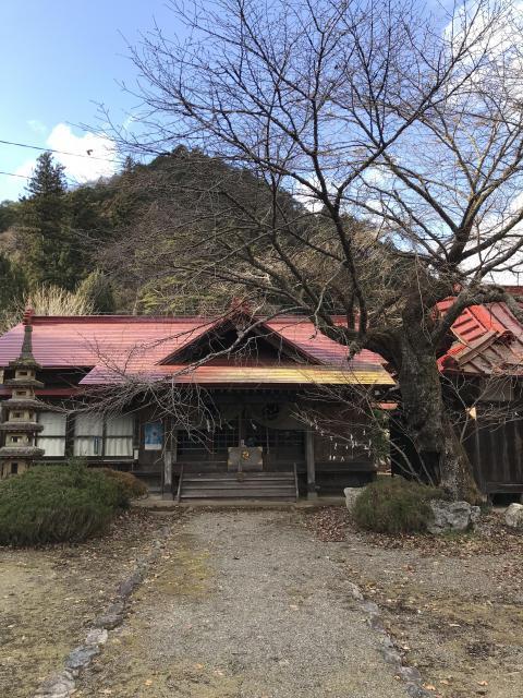 栃木県加蘇山神社の本殿