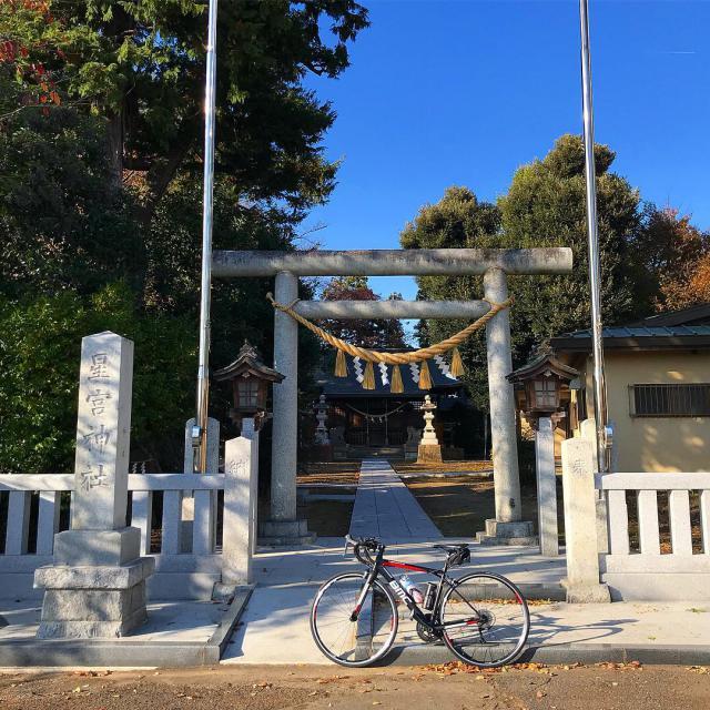 星宮神社の鳥居