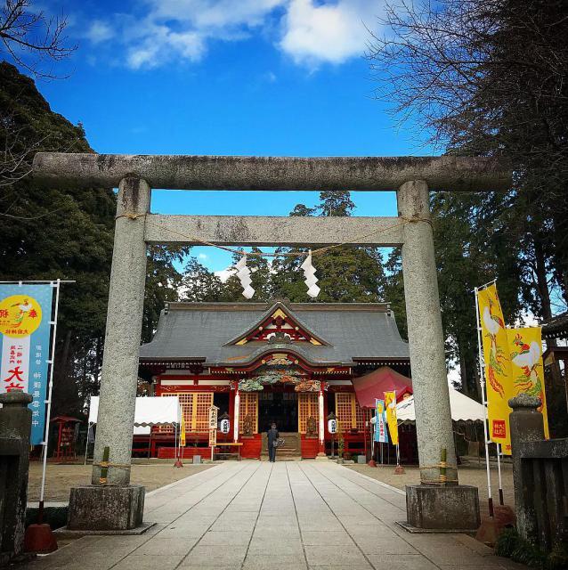 大前神社の鳥居