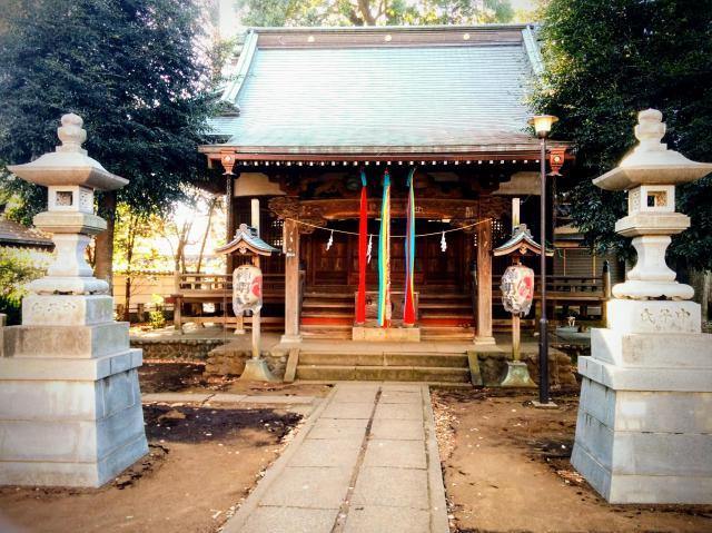 東京都神明社の本殿