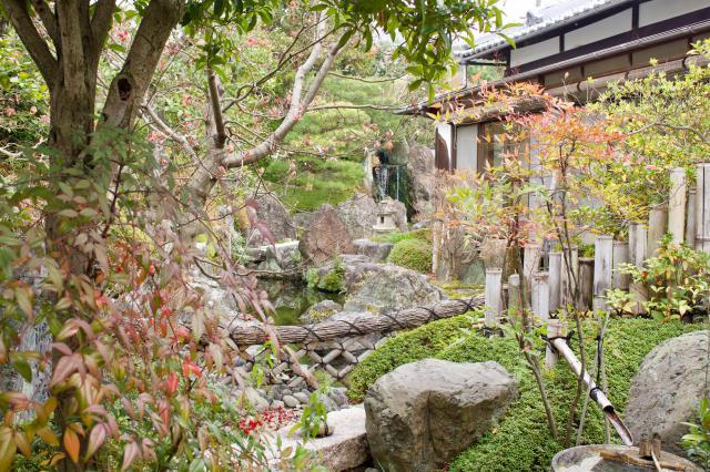 瑞光院の庭園