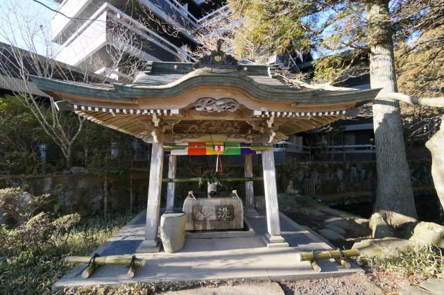 長安寺の手水