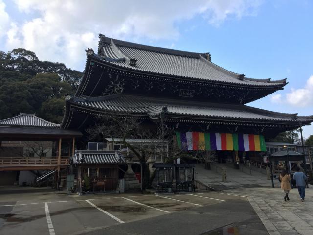大阪府水間寺の本殿