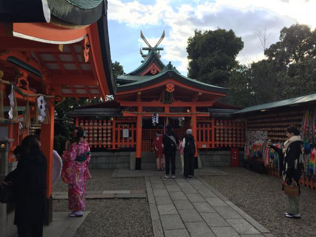 東丸神社の鳥居