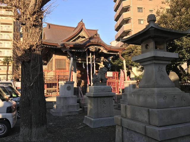 東京都三輪厳島神社(弁天神社)の本殿