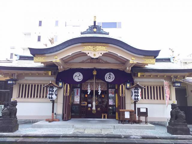 東京都高輪神社の本殿