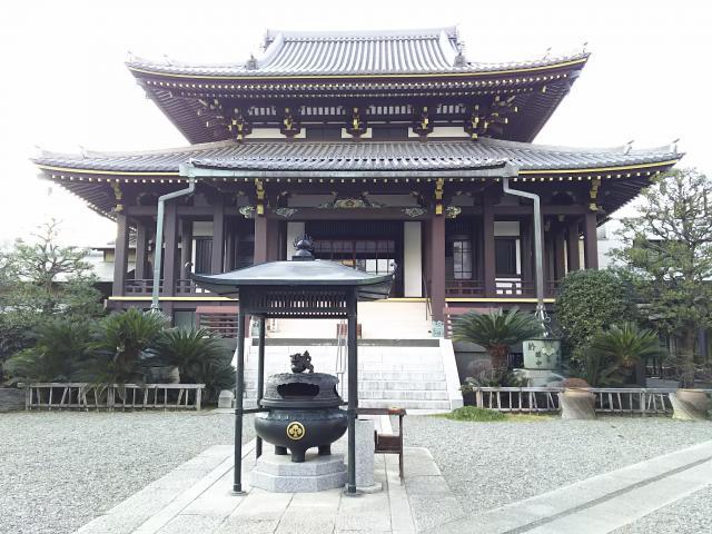 東京都善光寺の本殿