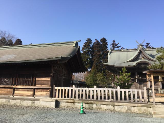 阿蘇神社の本殿
