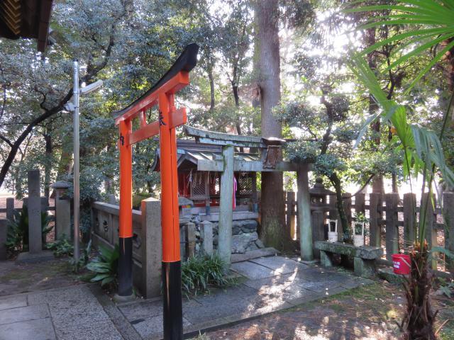 京都府白雲神社の鳥居