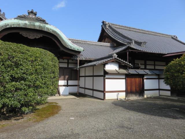 宝鏡寺の本殿