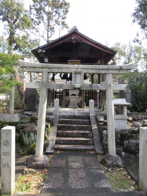 京都府妙顕寺の鳥居