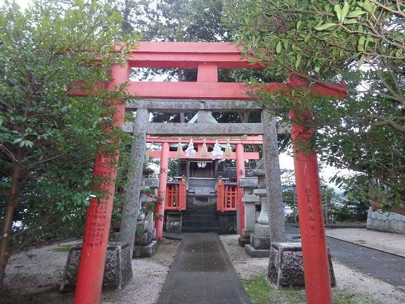 島根県日吉神社の鳥居
