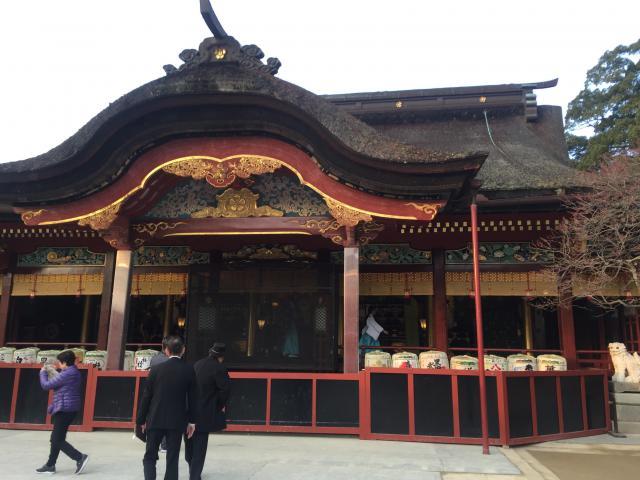 太宰府天満宮の本殿