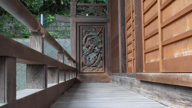 神奈川県杉田八幡神社の芸術