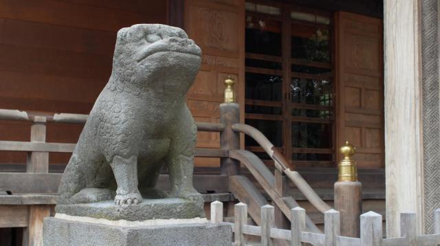 杉田八幡神社の狛犬