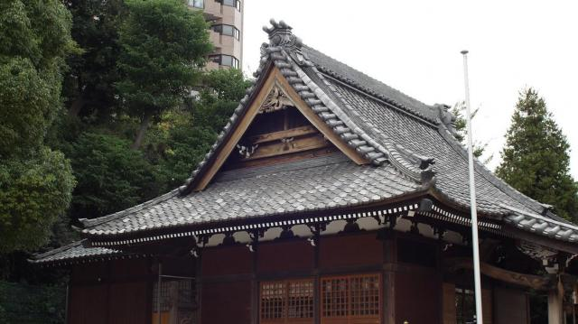 神奈川県杉田八幡神社の本殿