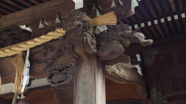 杉田八幡神社の芸術