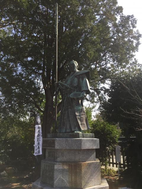 光雲神社(福岡県大濠公園駅) - 像の写真