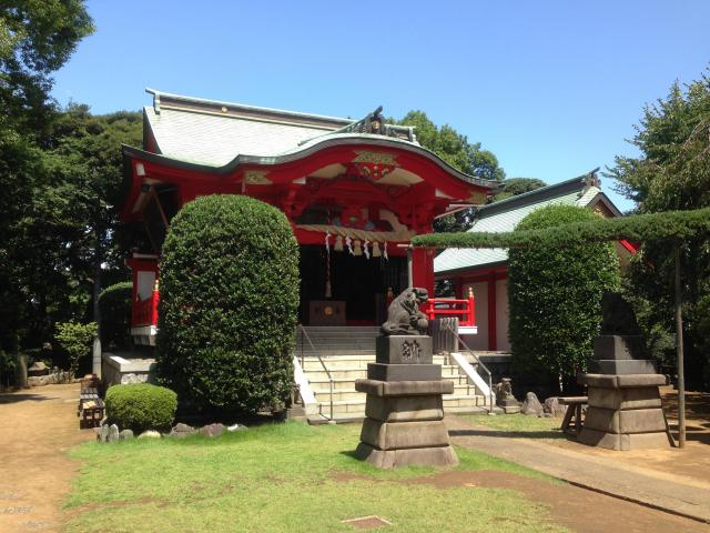 神奈川県浅間神社の本殿