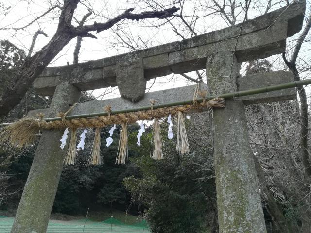福岡県八幡神社の鳥居
