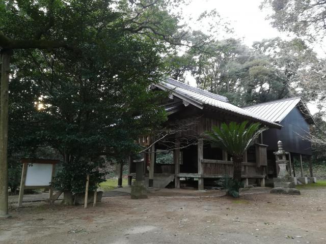 福岡県八幡神社の建物その他