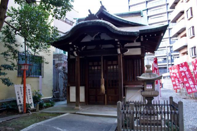 花隈嚴島神社の本殿
