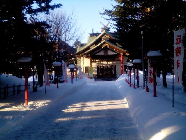 発寒神社の本殿