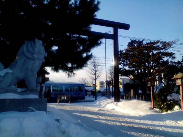 北海道発寒神社の鳥居