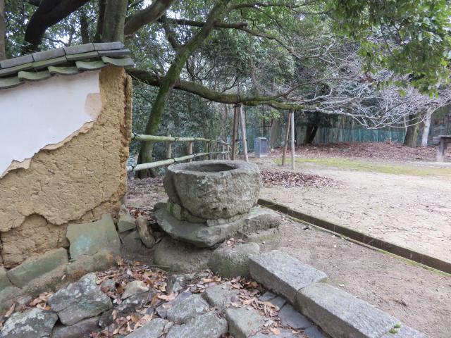 知足院の庭園