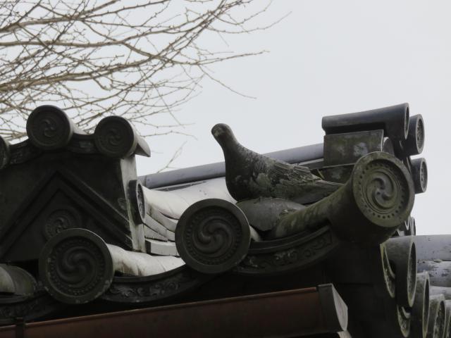 手向山八幡宮の像