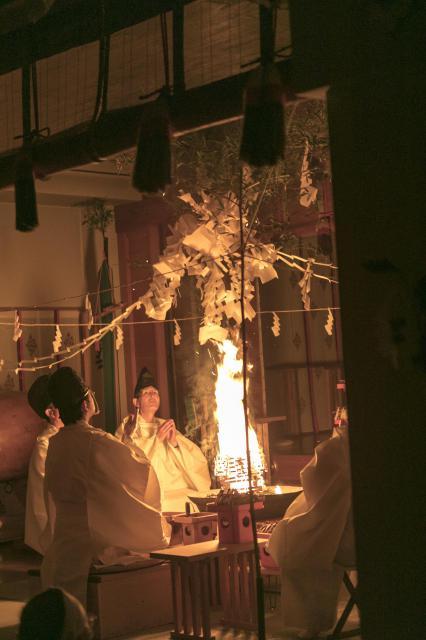 貴嶺宮のお祭り